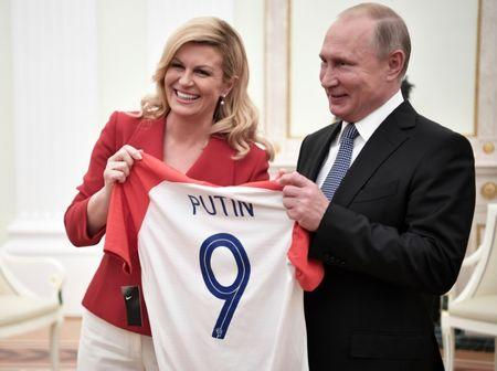 Image result for putin world cup red tie