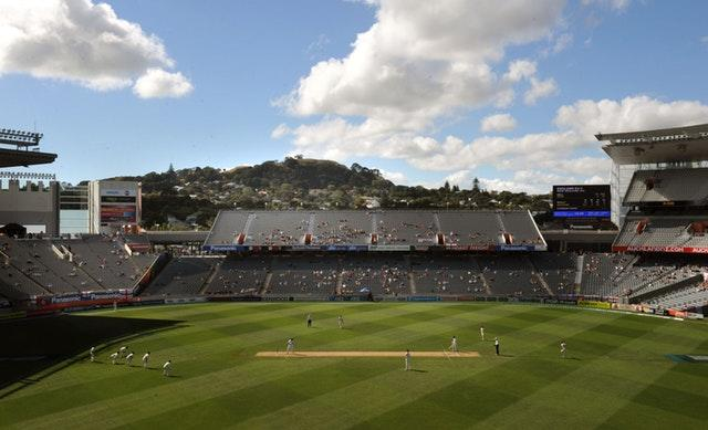 Eden Park was the venue for New Zealand's innings of 26 in the second Test of a two-match series against England in March 1955