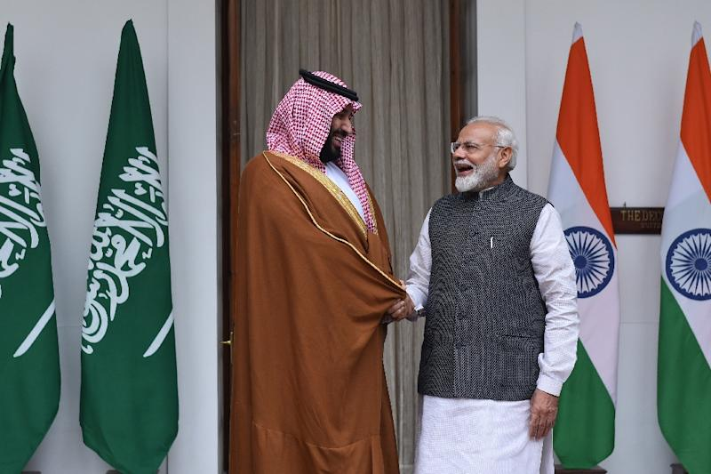 Saudi Crown Prince hails China relations at talks with Xi