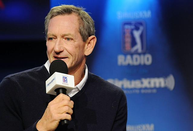 Hank Haney was suspended from his SiriusXM PGA Tour Radio show last week for his racist comments. (Photo by Gerardo Mora/Getty Images for SiriusXM)