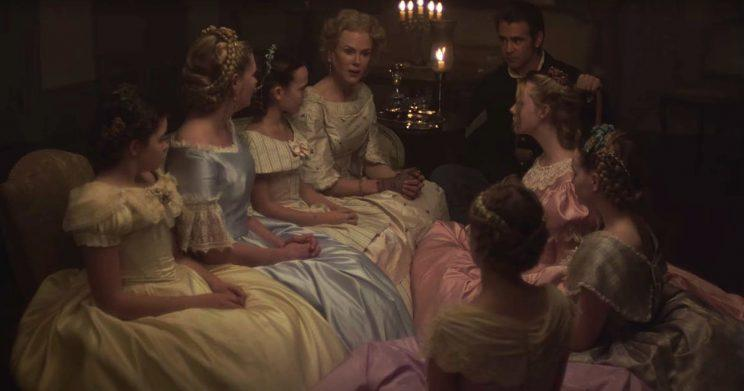 The Beguiled Colin Farrell Nicole Kidman Sofia Coppola Elle Fanning Kirsten Dunst