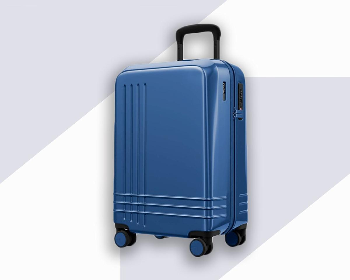 """<p>We're big fans of Roam, which was founded by two former Tumi executives in 2018. The brand separates itself from the crowded field of affordable hard-shell luggage thanks to its customizable options. There are nine different colors to choose from, and you can do a simple customization—which just involves choosing a main color and an accented color that appears on the zipper and wheels—or a full one that lets you choose the colors for almost every detail on the suitcase, from the front and back shells to the stitching and carry handle. Aside from aesthetics, the Jaunt is lightweight (it weighs 6.6 pounds) and features a repellent zipper, TSA-approved lock, and an ergonomic handle grip.</p> <p><strong>Buy Now</strong>: $450, <a href=""""https://fave.co/2nOQbdL"""" rel=""""nofollow"""">roamluggage.com</a></p>"""