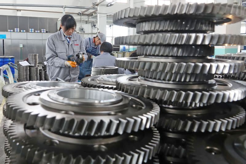 China's February factory PMI seen at lowest since 2009 as coronavirus slams production - Reuters poll