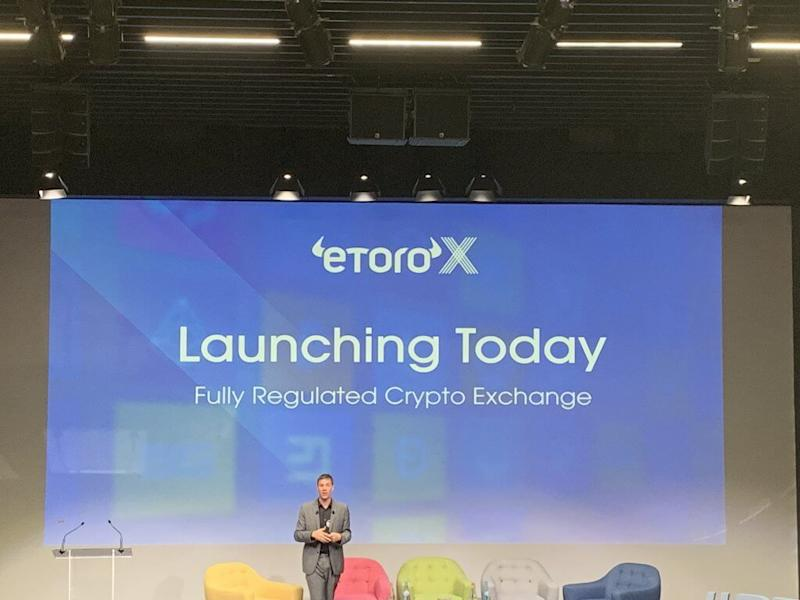 eToro CEO reveals plans to add leverage and new tokenised asset types to eToroX