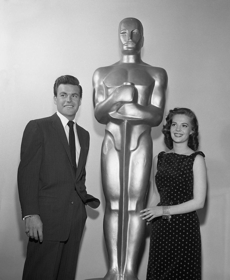 "<p>In 1964 at the age of 25, Wood received her third Oscar nomination. She became the <a href=""https://www.bbc.com/news/entertainment-arts-15789921"" rel=""nofollow noopener"" target=""_blank"" data-ylk=""slk:youngest person"" class=""link rapid-noclick-resp"">youngest person</a> to receive three Academy Award nominations, and she still holds the title to this day—though she sadly never actually won one of those Oscars.</p>"