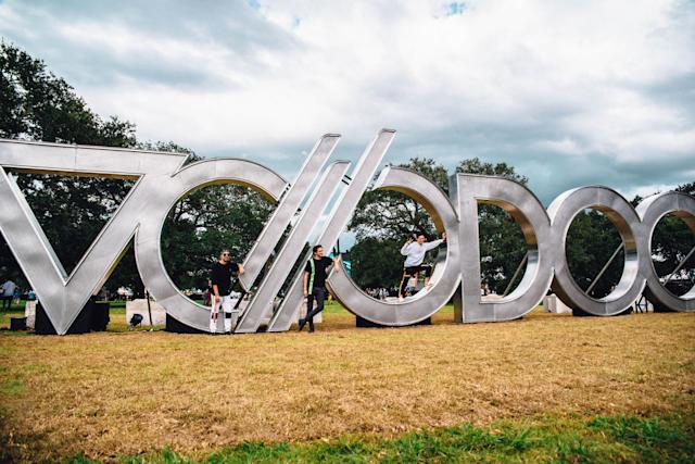 <p>NEW ORLEANS, LA – OCTOBER 27: Autograf during the 2017 Voodoo Music + Arts Experience at City Park on October 27, 2017 in New Orleans, Louisiana. (Photo: Jordan Hefler) </p>