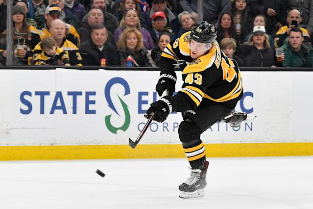 The Bruins and forward Danton Heinen have avoided arbitration as the two sides agreed to a two-year contract extension on Tuesday night.