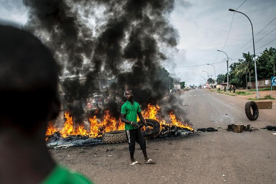 At least 15 people, including a priest, were killed and several others wounded in clashes on May 28 last year in the capital of the strife-torn Central African Republic (AFP Photo/Marco Longari)