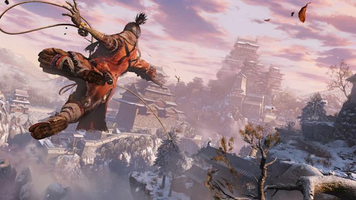 """The games of From Software, including """"Sekiro: Shadows Die Twice,"""" are tough but allow players to get into a sense of rhythm."""