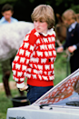 "<p>Of course, no wrap-up of Diana's pre-royal style would be complete without a nod to her iconic sheep jumper, worn with a pair of jeans to watch Prince Charles at the polo. In fact, this jumper's become so famous, UK brand <a href=""https://rowingblazers.com/products/sheep-sweater-womens"" rel=""nofollow noopener"" target=""_blank"" data-ylk=""slk:Rowing Blazers"" class=""link rapid-noclick-resp"">Rowing Blazers</a> brought it back last year along with the Princess' famous 'I'm a luxury' knit.</p>"