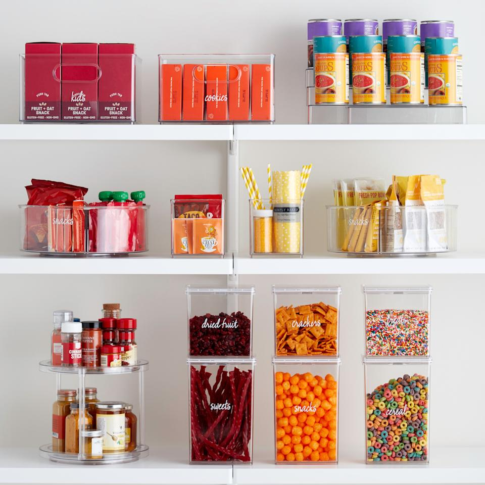 """<p>Thanks to <a href=""""https://www.elledecor.com/life-culture/cleaning-organizing/a26015969/the-home-edit-organization-tips/"""" target=""""_blank"""">The Home Edit</a>'s new and exclusive collection at The Container Store, your home can finally be as radically organized as the closets and pantries the Instagram stars have designed for their celeb clients (like, ahem, Mandy Moore and Gwyneth Paltrow). Even if you're the type who believes everything sparks joy. Disorganized messes just don't stand a chance against these storage solutions. This new line of organizers will help you achieve T.H.E. levels of organization at home on your own.</p><p>All you have to do is make a trip your local Container Store-or <a href=""""https://www.containerstore.com/category/theHomeEditExclusiveCollection"""" target=""""_blank"""">shop the collection online</a>-to snag these top picks, then get to tidying. Whether you're making over your closet, your pantry, or somewhere in between, your home will never be the same again.</p>"""