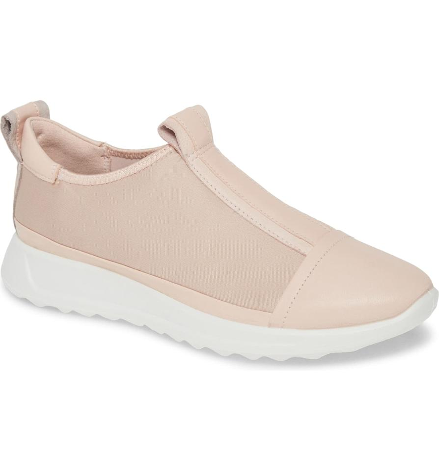 """<p><product href=""""https://www.nordstrom.com/s/ecco-flexure-running-shoe-women/5246224?origin=category-personalizedsort&amp;breadcrumb=Home%2FAnniversary%20Sale%2FWomen%2FShoes%2FSneakers%20%26%20Athletic&amp;color=rose%20dust%20leather"""" target=""""_blank"""" class=""""ga-track"""" data-ga-category=""""Related"""" data-ga-label=""""https://www.nordstrom.com/s/ecco-flexure-running-shoe-women/5246224?origin=category-personalizedsort&amp;breadcrumb=Home%2FAnniversary%20Sale%2FWomen%2FShoes%2FSneakers%20%26%20Athletic&amp;color=rose%20dust%20leather"""" data-ga-action=""""In-Line Links"""">Ecco Flexure Running Shoe</product> ($78, originally $130)</p>"""