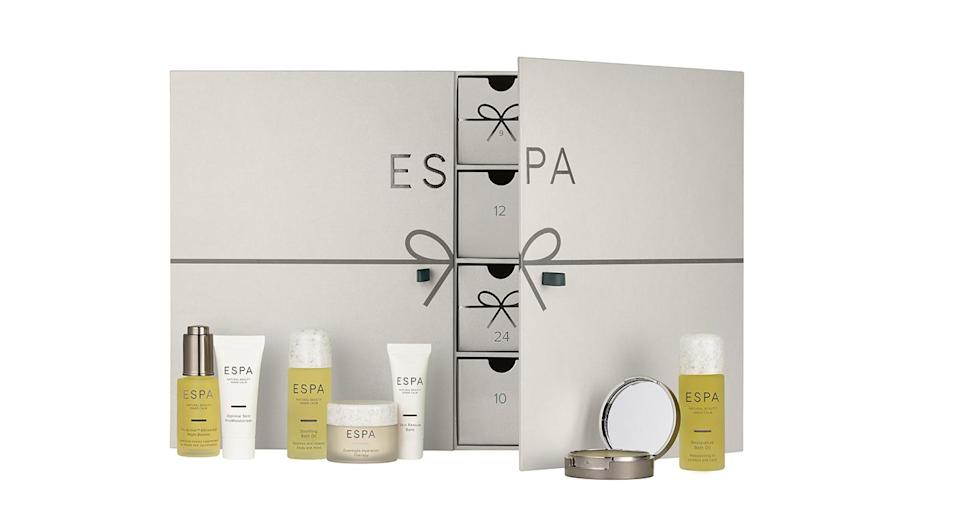 <p>Gentle, natural and effective, ESPA is a favourite skincare brand – and has made one dreamy advent calendar. Containing minis of the brand's most coveted products (yes, the Optimal Skin ProMoisturiser is in there), it's a must-buy for fans of the brand. <em>Available at ESPA.</em> </p>