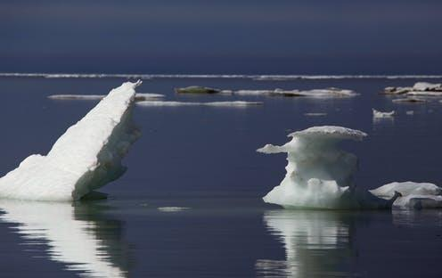 "<span class=""caption"">Ice floes in the Laptev Sea, Russia.</span> <span class=""attribution""><a class=""link rapid-noclick-resp"" href=""https://www.shutterstock.com/image-photo/ice-floes-arctic-sea-laptev-yakutia-504230647"" rel=""nofollow noopener"" target=""_blank"" data-ylk=""slk:Olenyok/Shutterstock"">Olenyok/Shutterstock</a></span>"