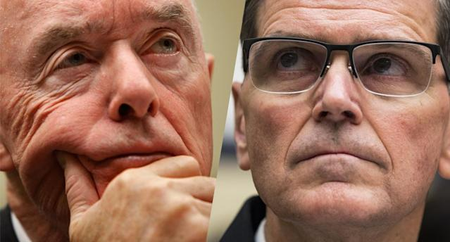 Retired U.S. Army Gen. Barry McCaffrey, left, and Gen. Joseph Votel. (Photos: Chip Somodevilla/Getty Images; Samuel Corum/Anadolu Agency/Getty Images)