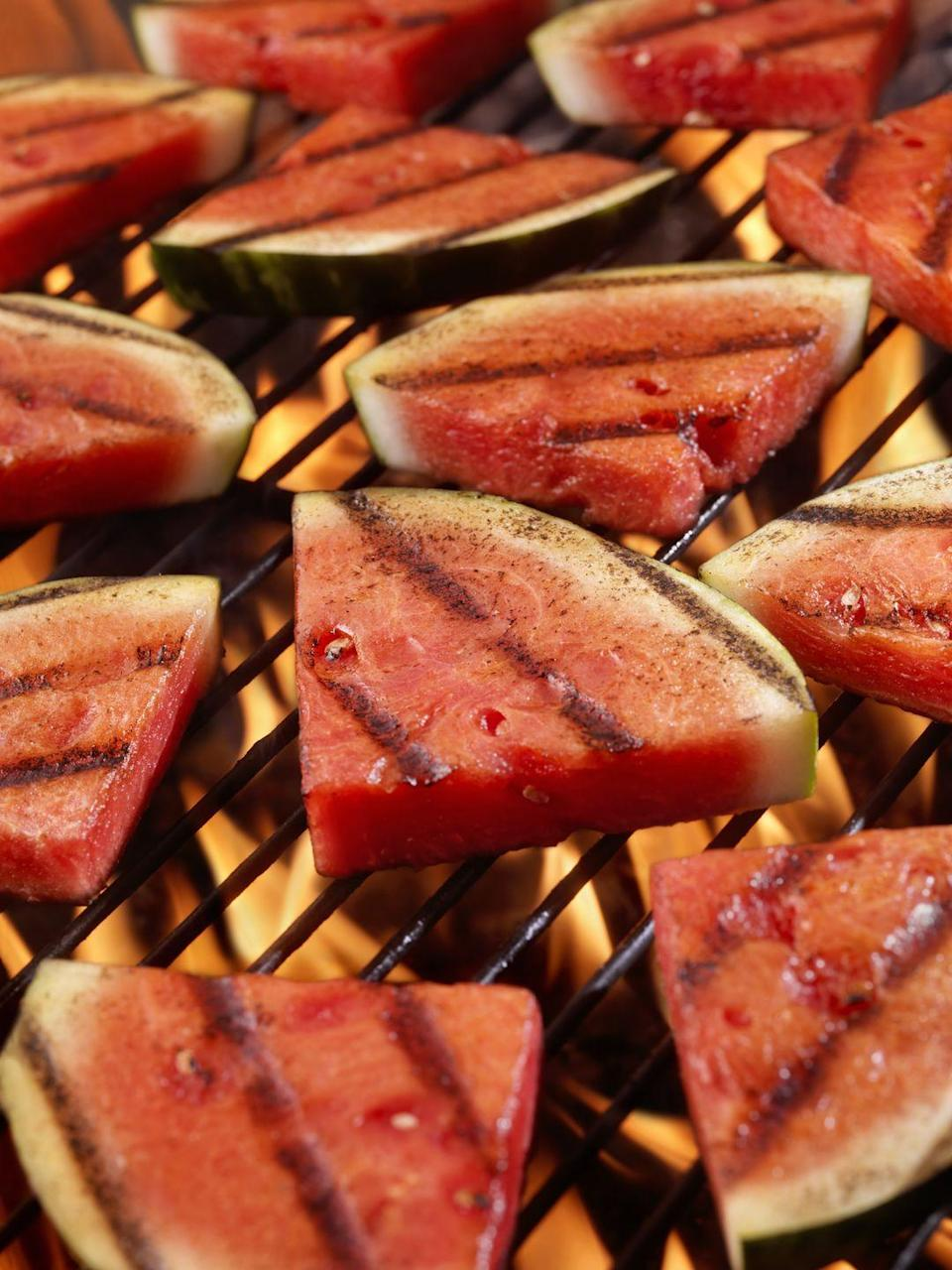 <p>You can put more or less anything on a BBQ. One of the most exciting things I've ever done is put a whole watermelon straight onto the grill. I just dehydrated and marinated the watermelon for a whole day, and then when I put it on the BBQ, the texture went all succulent and had an almost meaty texture. It's out of this world!</p>