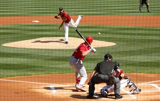 MLB: Spring Training-Cincinnati Reds at Arizona Diamondbacks