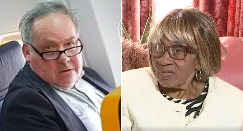 Elderly black woman racially insulted onboard flight