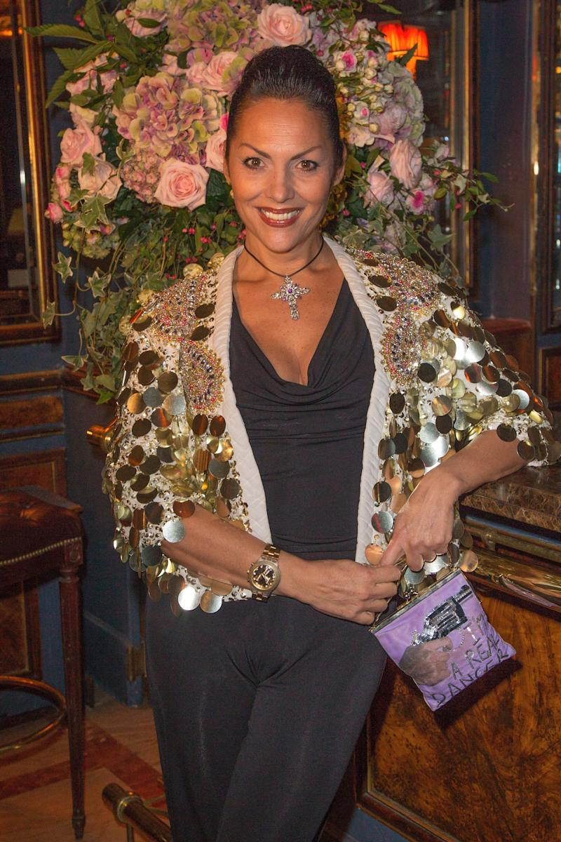 Princess Hermine de Clermont-Tonnerre attends the launching of Dior's Capture Totale skincare, at Restaurant Laperouse on October 24, 2012 in Paris, France.