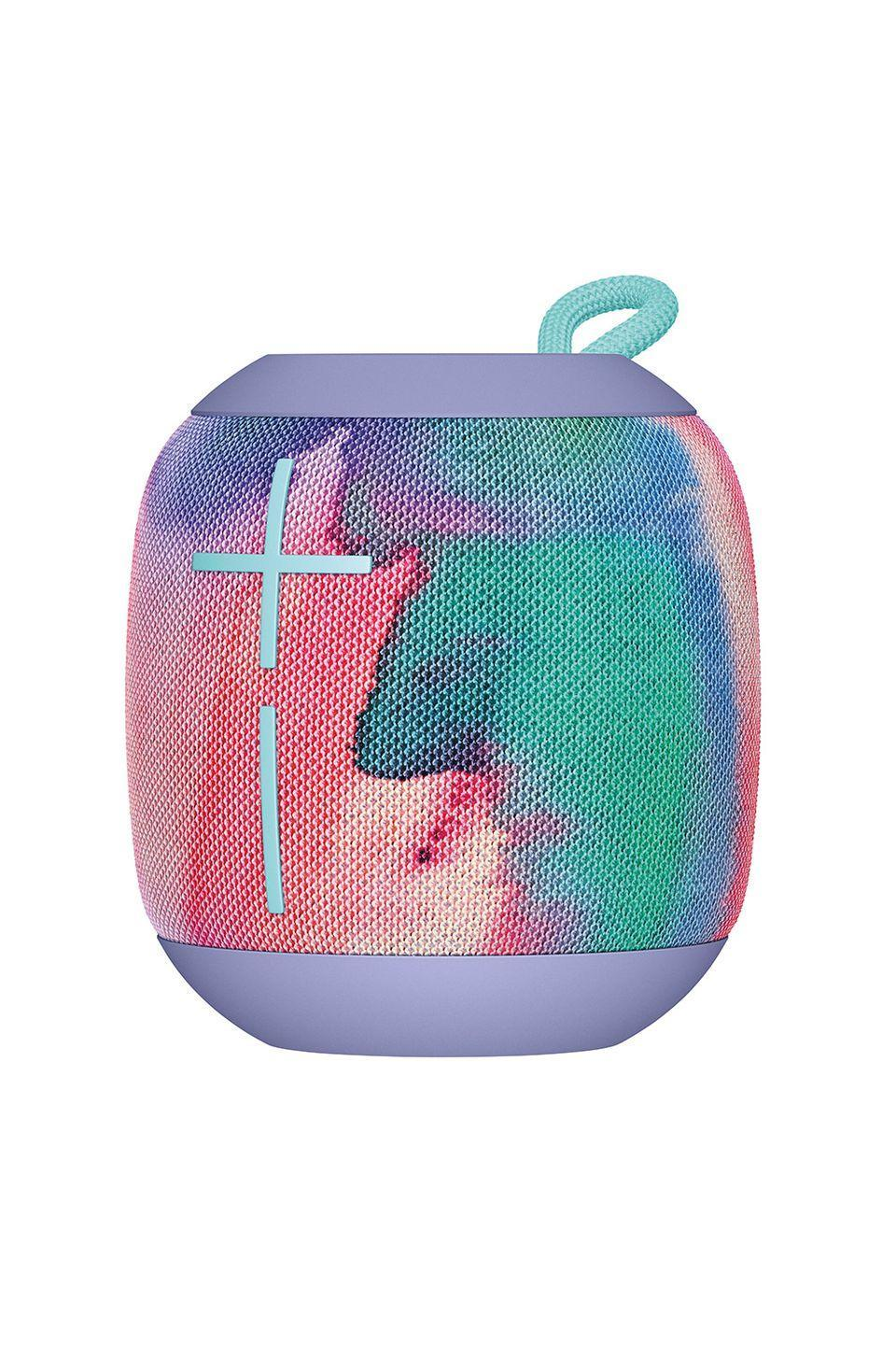 """<p>It's also perfect for blasting tunes at your end-of-summer pool dip. </p><p>Ultimate Ears Wonderboom Bluetooth Speaker, $100, <a href=""""https://www.amazon.com/"""" rel=""""nofollow noopener"""" target=""""_blank"""" data-ylk=""""slk:amazon.com"""" class=""""link rapid-noclick-resp"""">amazon.com</a></p>"""