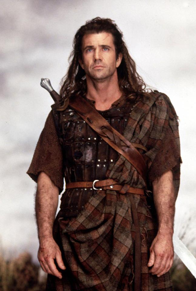 "<a href=""http://movies.yahoo.com/movie/1800244920/info"">Braveheart</a>  Let's forget the fact that kilts weren't worn in Scotland until about 300 years after William Wallace's day and just do some simple math. According to the movie, Wallace's blue-eyed charm at the Battle of Falkirk was so overpowering, he seduced King Edward II's wife, Isabella of France, and the result of their affair was Edward III. But according to the history books, Isabella was three years old at the time of Falkirk, and Edward III was born seven years after Wallace died."