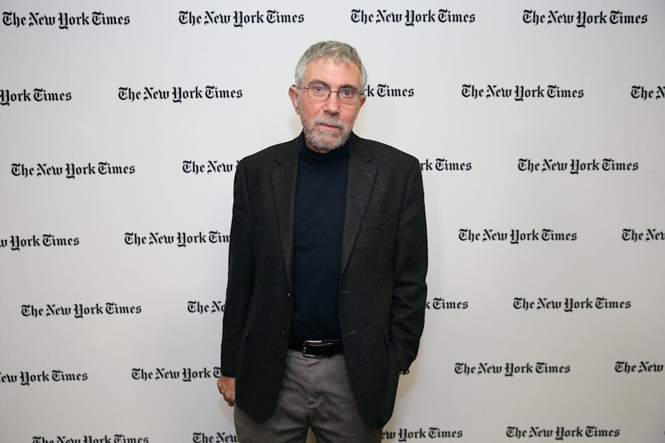 Nobel Prize-winning economist and New York Times Opinion columnist Paul Krugman attends The New York Times Food For Tomorrow Conference 2015 (Neilson Barnard/Getty Images for the New York Times)