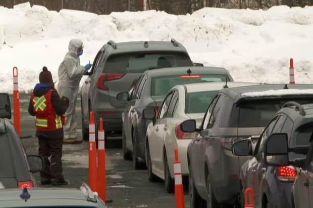 There were long lineups at Mount Pearl Senior High two weeks ago, as hundreds of people pulled up to the mobile COVID-19 testing site. Isolation and quarantine for many people affected by the virus variant outbreak is soon coming to an end.