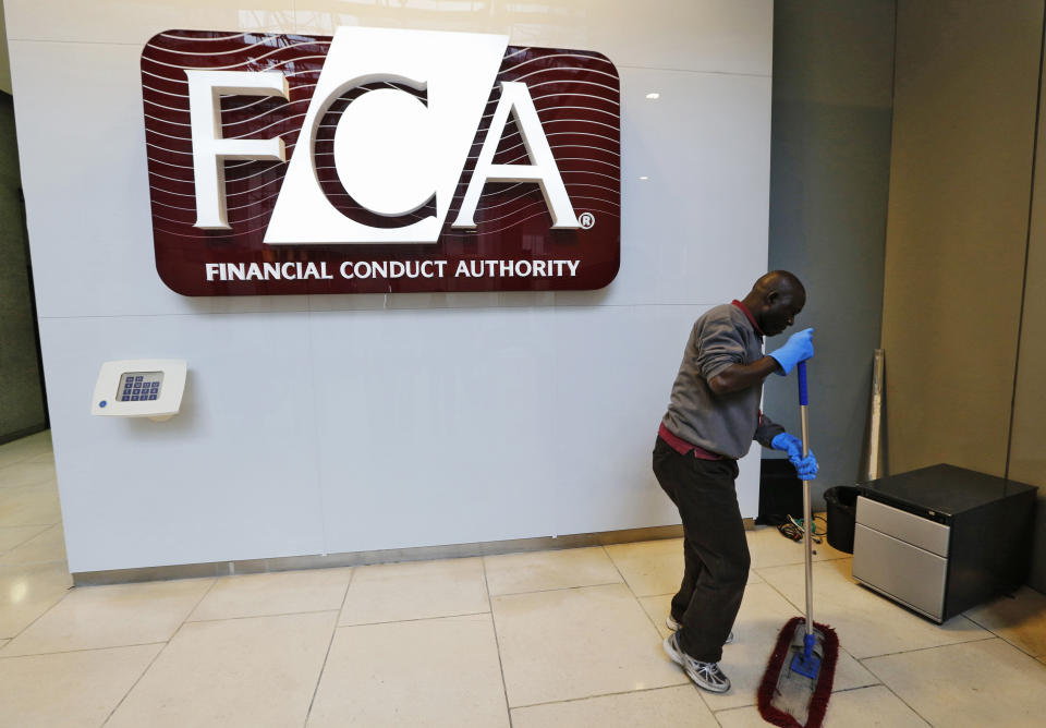 Financial Conduct Authority HQ in the Canary Wharf business district of London. Photo: Chris Helgren/Reuters