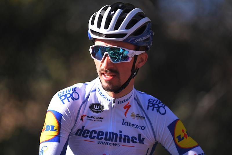 Deceuninck-QuickStep's Julian Alaphilippe is ready for the 2020 season