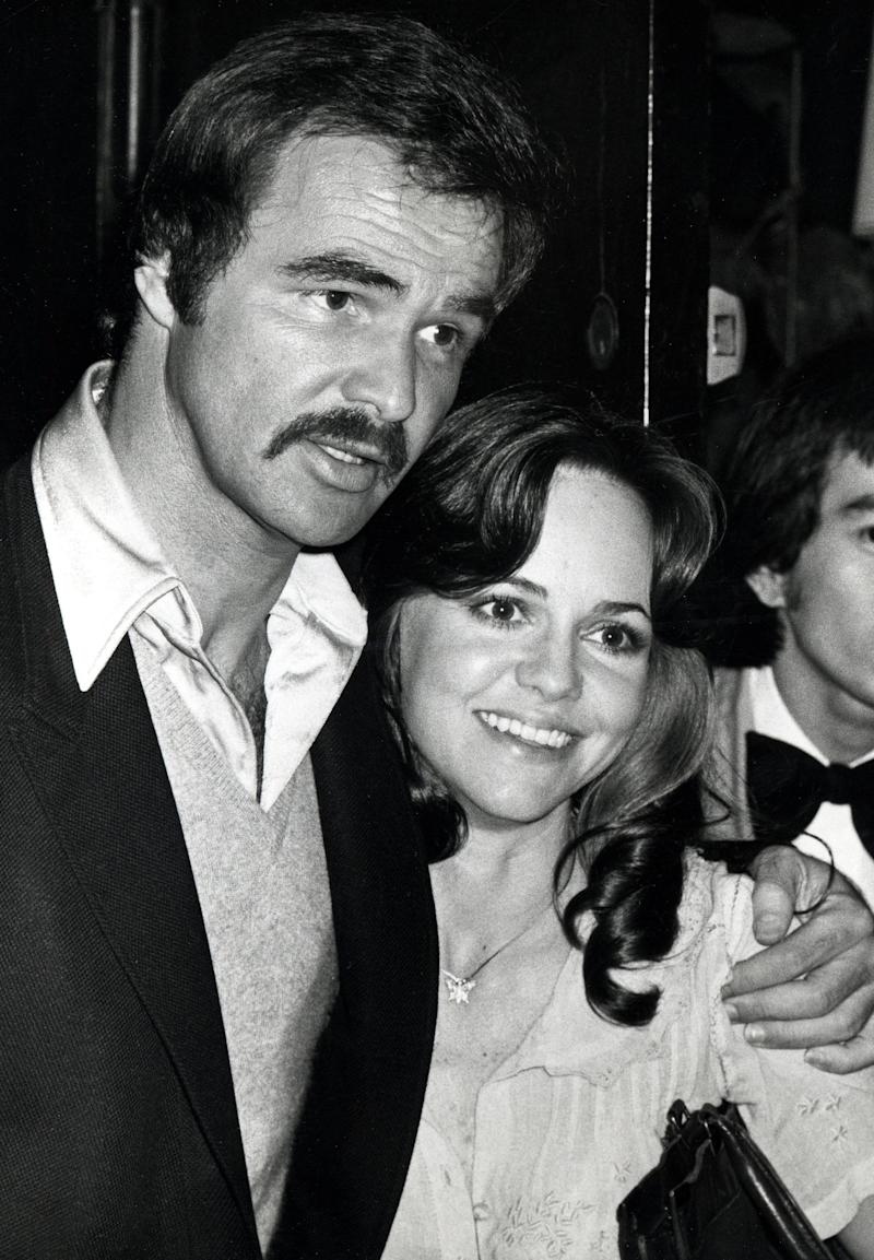 Burt Reynolds and Sally Field in 1978. (Photo: Ron Galella via Getty Images)