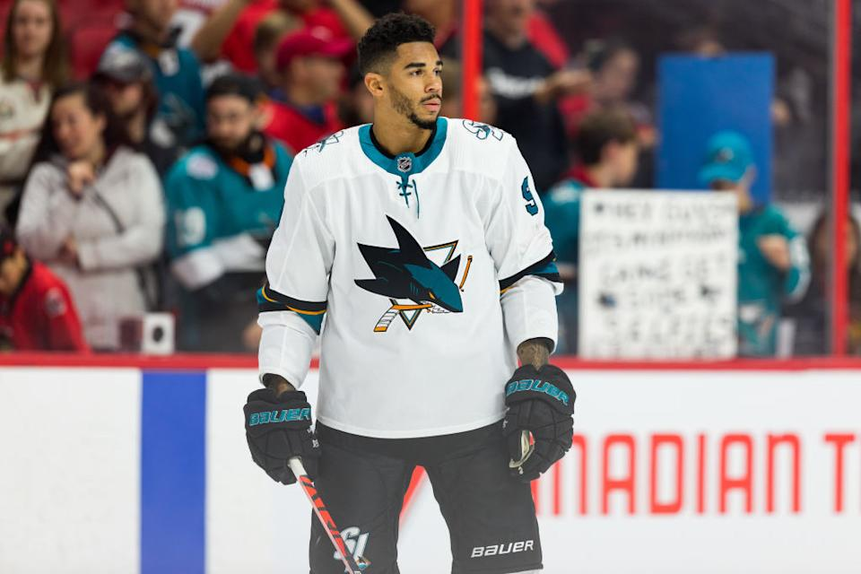 It was revealed last month that embattled Sharks forward Evander Kane was under NHL investigation for violating COVID-19 protocols. Now we know why.