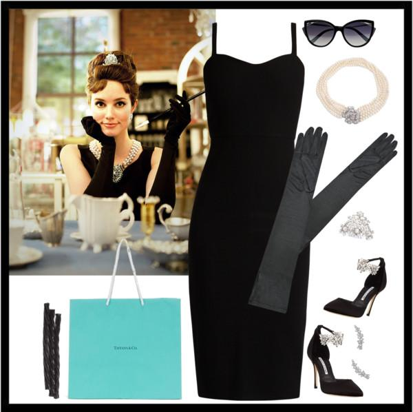 Audrey Hepburn, Breakfast at Tiffany's Halloween costume