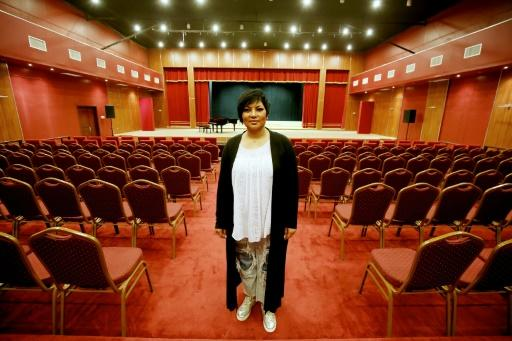 When opera singer Amani Hajji first enrolled in Kuwait's National Conservatory in 1985, her parents banned her from singing anywhere outside the walls of the school