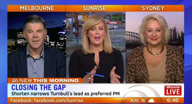Should Abbott get a posting to the UK to stop his carrying on? Source: Sunrise