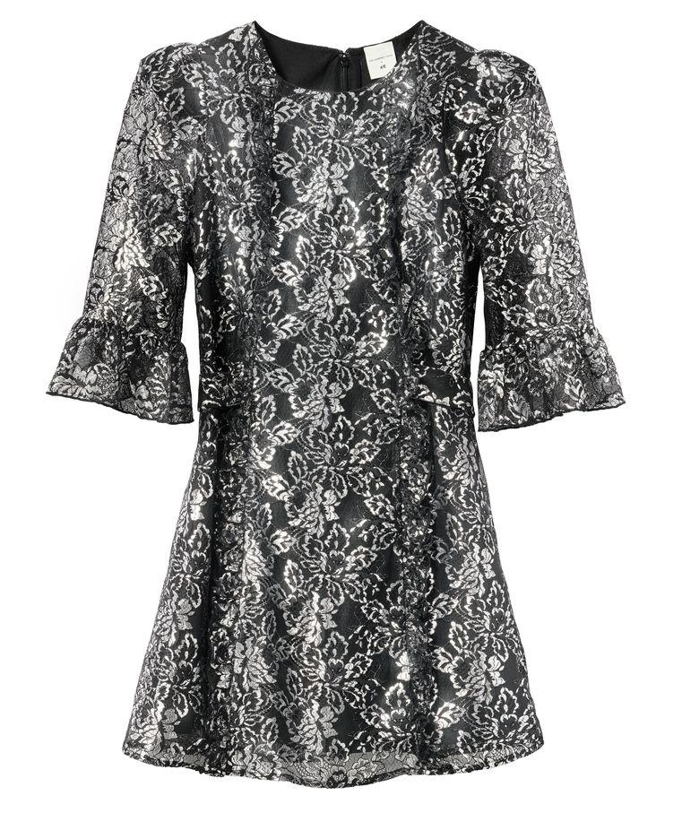 "<p>Silver lace mini dress, £19.99, H&M</p><p><a class=""body-btn-link"" href=""https://go.redirectingat.com?id=127X1599956&url=https%3A%2F%2Fwww2.hm.com%2Fen_gb%2Fproductpage.0923551001.html&sref=https%3A%2F%2Fwww.cosmopolitan.com%2Fuk%2Ffashion%2Fstyle%2Fg34287086%2Fhandm-the-vampires-wife%2F"" target=""_blank"">BUY NOW</a></p><p>The matching mini dress has cute peplum sleeves that gives it a retro 60s vibe. </p>"