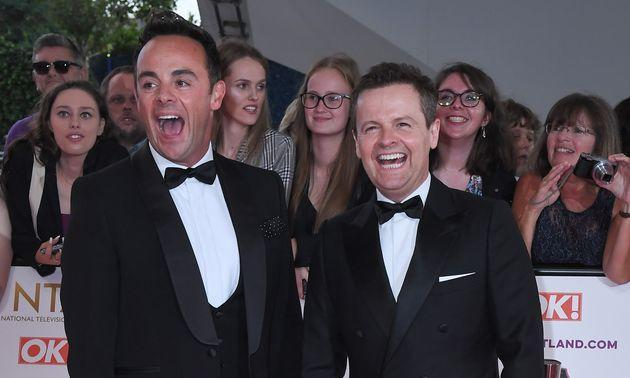 Ant and Dec on the NTAs red carpet (Photo: Anthony Harvey/Shutterstock)