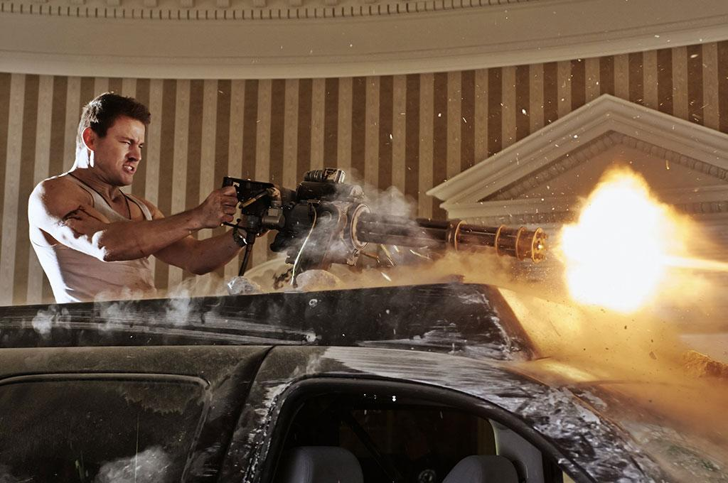 """Channing Tatum in Columbia Pictures' """"White House Down"""" - 2013"""