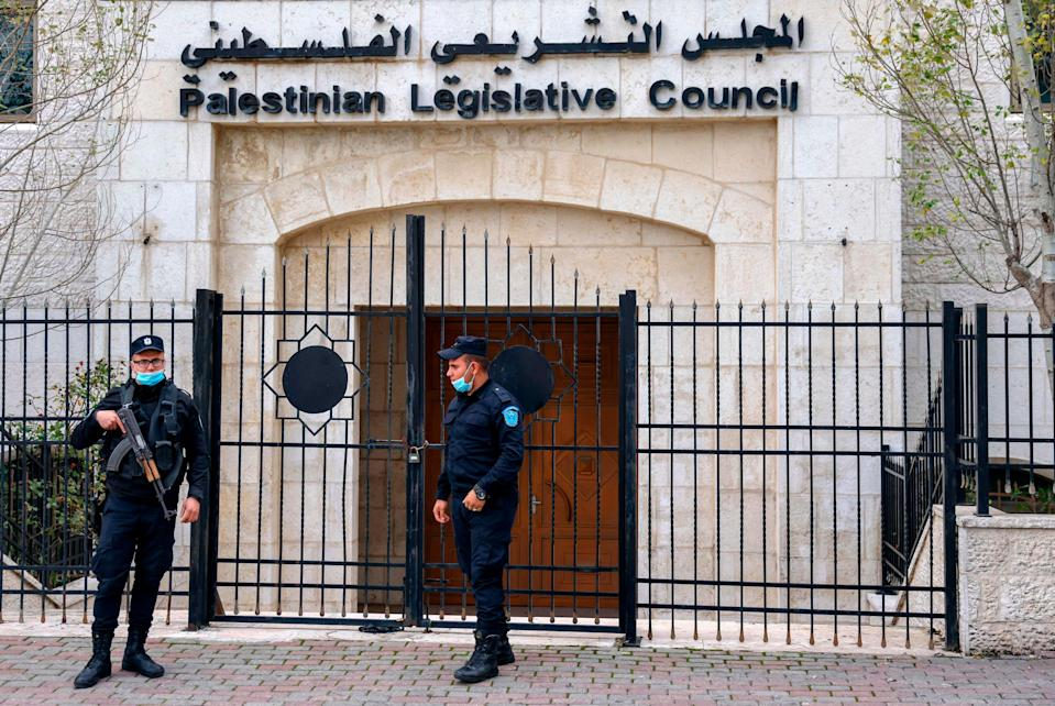 <p>Palestinian president Mahmoud Abbas recently announced dates for the first Palestinian elections in more than 15 years</p> (AFP via Getty Images)
