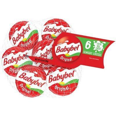 "<p><strong>Mini Babybel</strong></p><p>target.com</p><p><a href=""https://www.target.com/p/babybel-original-mini-edam-cheese-pieces-6-ct/-/A-13371745"" rel=""nofollow noopener"" target=""_blank"" data-ylk=""slk:BUYNOW"" class=""link rapid-noclick-resp"">BUYNOW</a></p><p>It's Edam cheese, in all its rich and creamy glory, individually portioned. Simple. Excellent.</p><p>Per wheel (21g): 5g protein, 70 calories, 0g carbs, 6g fat</p>"