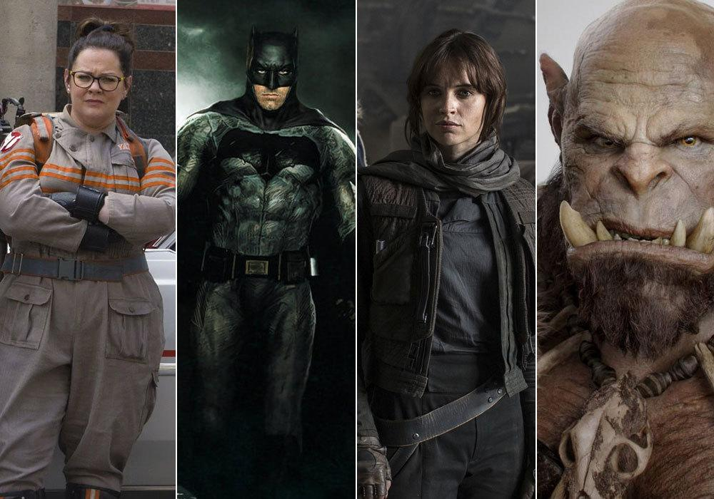 2016 has it all - new 'Star Wars' AND 'Star Trek' movies, huge superhero crossovers 'Batman v Superman' and 'Captain America: Civil War', British comedies 'Dad's Army' and 'David Brent: Life On The Road', epic fantasy adventures 'Fantastic Beasts', 'Warcraft', and 'Jungle Book' all coming before the year is out. Here's the 50 movies we're most excited about seeing in 2016.