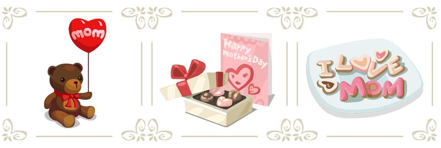 Cafe World Mother's Day Gifts