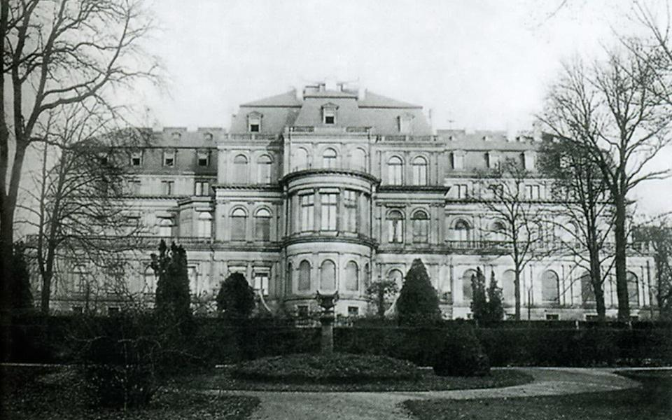 The Hesse family's Neues Palais in Darmstadt