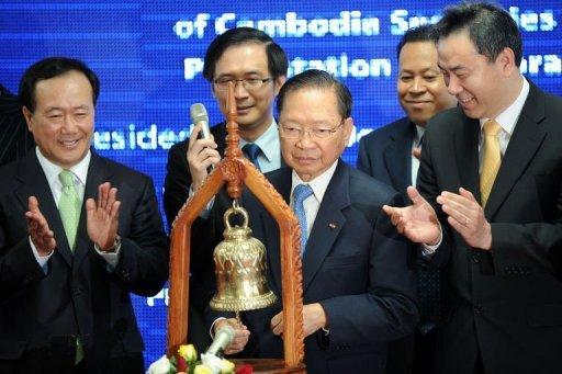 The Cambodia Securities Exchange (CSX) finally began trading shares on Wednesday nine months after it officially opened