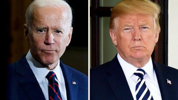 PHOTO: Joe Biden and Donald Trump in a composite image. (Getty Images, FILE)