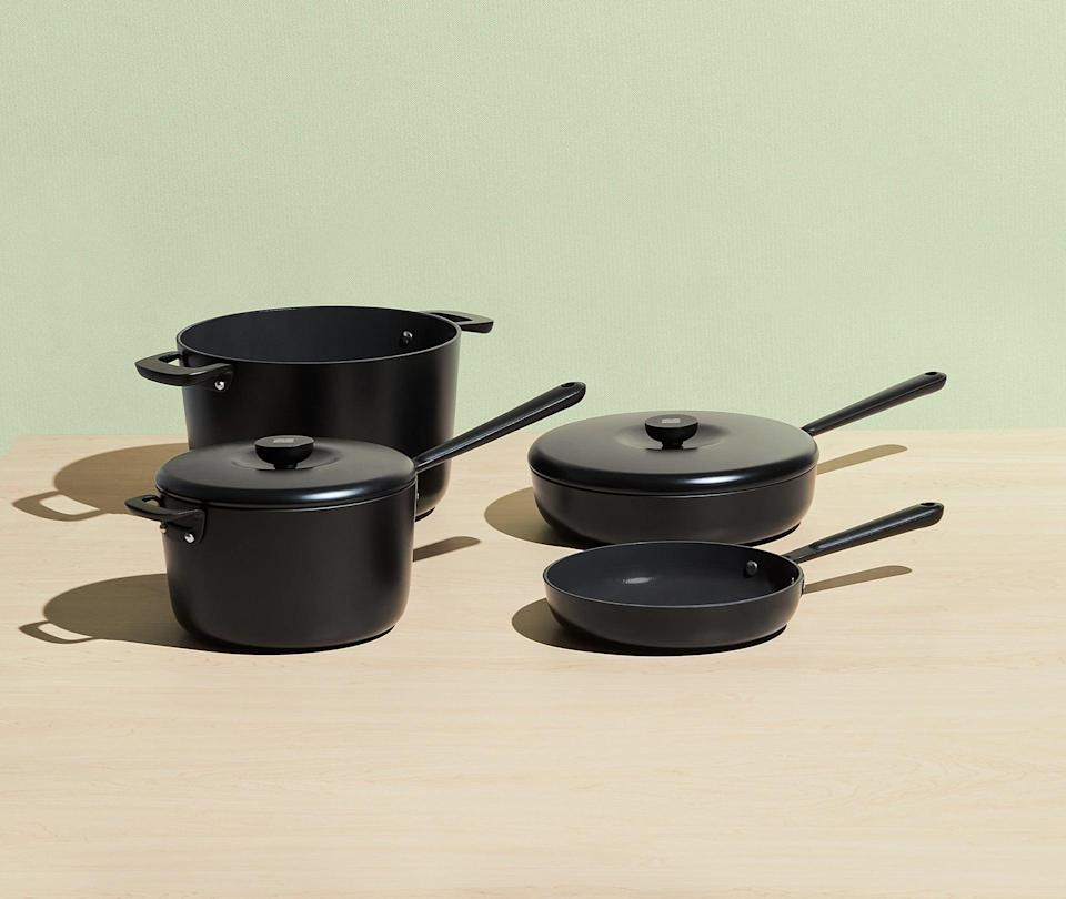 <p><span>Equal Parts Non-Stick Cookware Set</span> ($249, originally $292, plus 20 percent off orders over $150)</p>