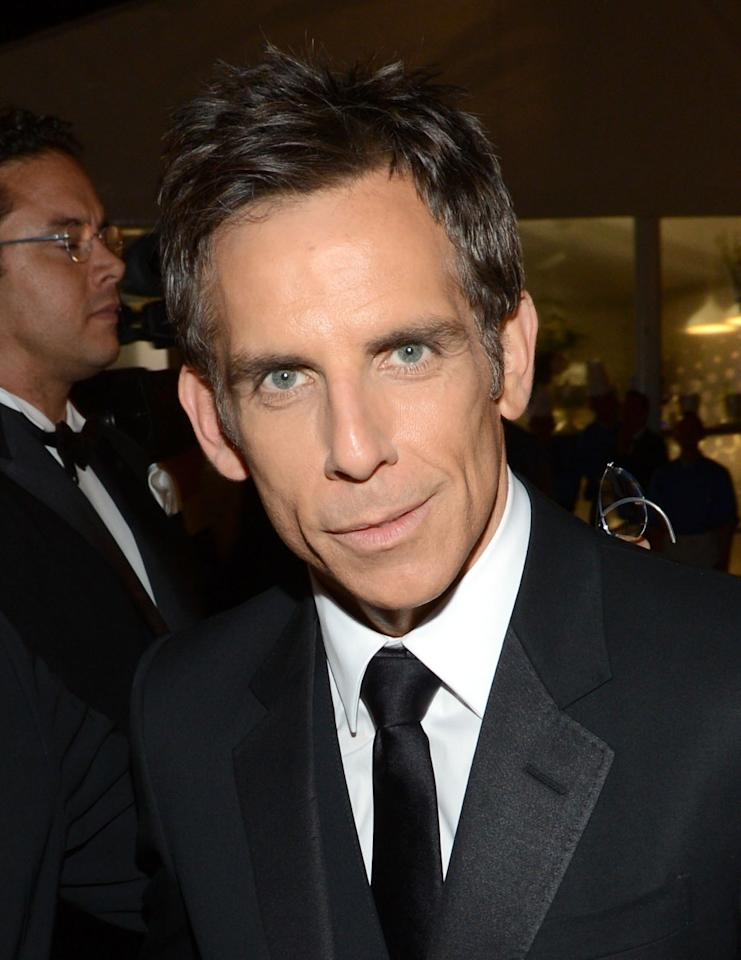 CANNES, FRANCE - MAY 18:  Ben Stiller attends the Haiti Carnival In Cannes Benefitting J/P HRO, Artists For Peace and Justice & Happy Hearts Fund Presented By Armani during the 65th Annual Cannes Film Festival on May 18, 2012 in Cannes, France.  (Photo by Michael Buckner/Getty Images for Carnival In Cannes)