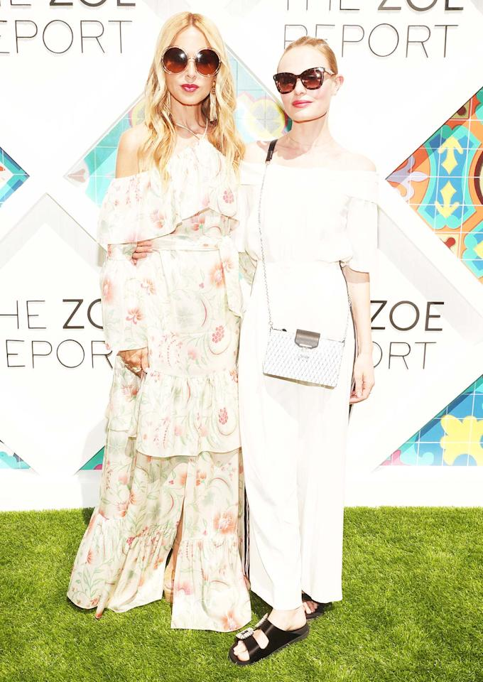 <h4>Rachel Zoe and Kate Bosworth/Getty Images</h4>