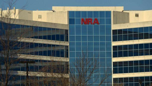 PHOTO: In this Jan. 10, 2013, file photo, the National Rifle Association of America headquarters building is seen in Fairfax, Va. (The Washington Post via Getty Images, FILE)