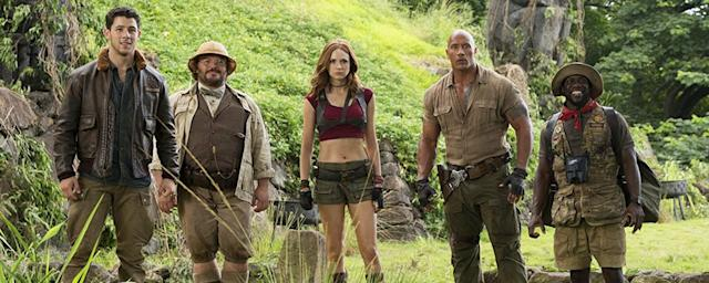 'Jumanji: Welcome to the Jungle' (Sony)