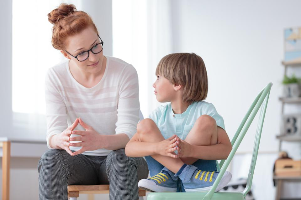 Experts recommend informing yourself about coronavirus before talking to children. (Getty Images)